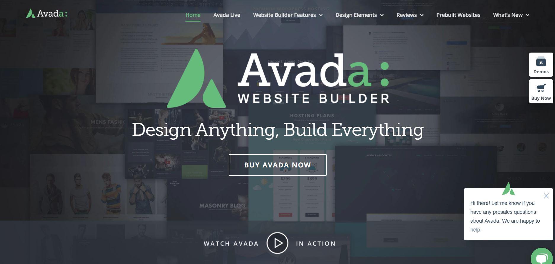 Avada WordPress themes