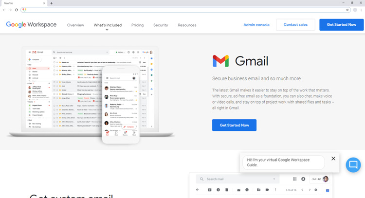 email provider